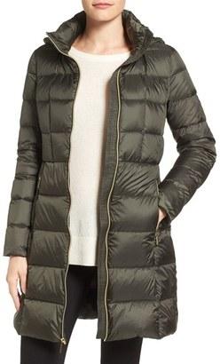 Women's Michael Michael Kors Packable Down Coat $228 thestylecure.com