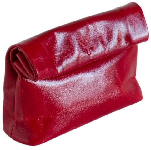 Marie Turnor Snak Small Leather Clutch