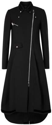 High Noblesse Black Twill Coat