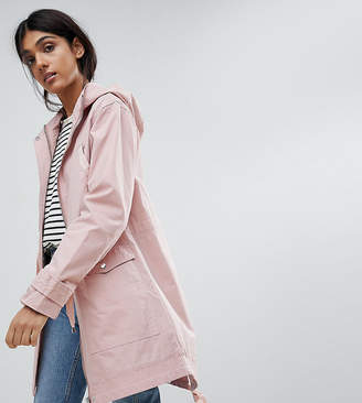 Asos Tall Design Tall Summer Parka With Jersey Lining