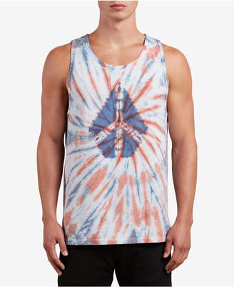 Volcom Men's Peace Stone Tie-Dye Tank