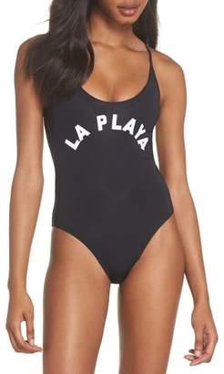 Pilyq Farrah One-Piece Swimsuit
