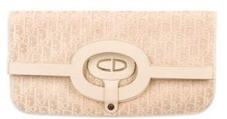 Christian Dior Diorissimo Fold-Over Clutch