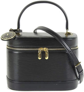 Valentino (ヴァレンティノ) - Luxury Brands Vintage Bags & Accessories ヴァレンチノ ショルダー付 2WAYバニティ ブラック