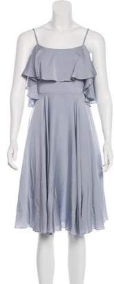 Milly Silk A-Line Dress
