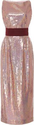 Markarian Exclusive Kashni Iridescent Sequin Midi Dress