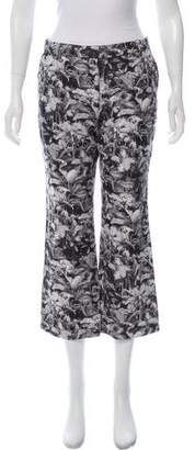 Dries Van Noten Printed Mid-Rise Pants