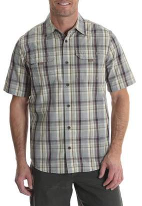 Wrangler Big Men's Short Sleeve Canvas Shirt