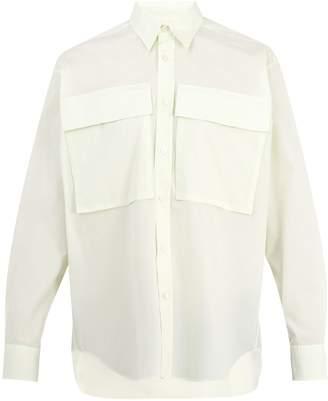 Stella McCartney Mattew point-collar cotton shirt