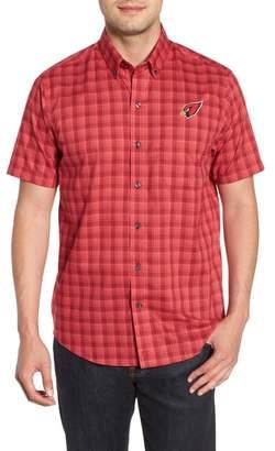Cutter & Buck Arizona Cardinals - Fremont Regular Fit Check Sport Shirt