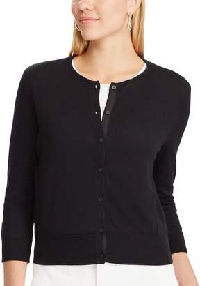 Chaps Women's Button-Front Cardigan