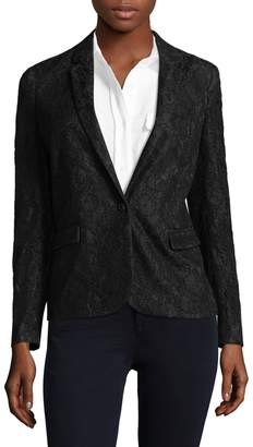 The Kooples Women's Bliss Lace Blazer