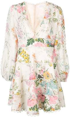 Zimmermann short floral dress