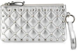 Valentino Rockstud Spike Bracelet Flat Pouch