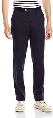 Franklin Tailored Men's Soft Summer Peach Cotton Chase Trouser