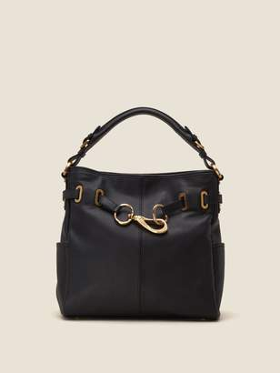 DKNY Sally Pebbled Leather Hobo
