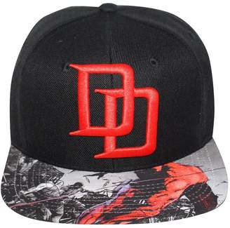 Bioworld Men's Licensed Daredevil Sublimated Brim Snapback Hat O/S