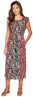 Lucky Brand Mixed Floral Dress Women's Dress