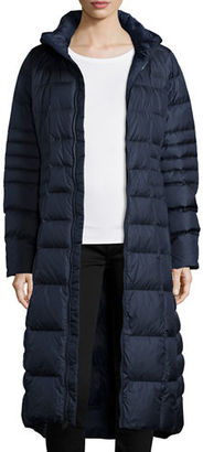 The North Face Long Hooded Down Parka $340 thestylecure.com