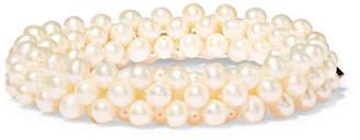 Rosantica Carrarmato Pearl Bracelet - White