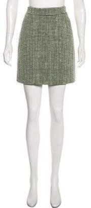 Proenza Schouler Tweed Mini Skirt