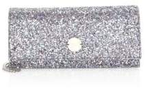 Jimmy Choo Fie Glitter Leather Crossbody Bag