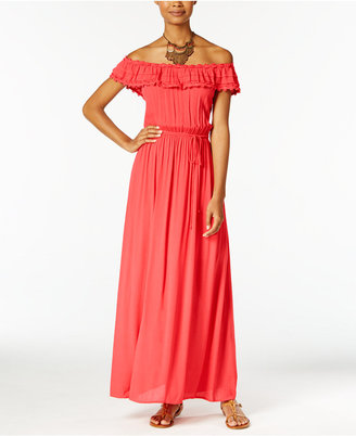 Speechless Off-The-Shoulder Maxi Dress $69 thestylecure.com
