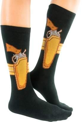 Gears Out Packin' Feet - The Gun Holster Socks