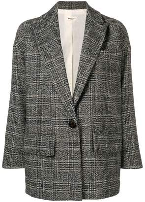 Masscob checked blazer
