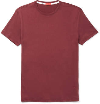Isaia Slim-Fit Silk and Cotton-Blend Jersey T-Shirt