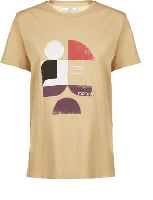 Etoile Isabel Marant Tewel Logo T-shirt