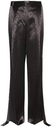 Givenchy Satin jacquard trousers