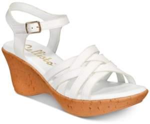 5af4684fd Callisto Platform Wedge Sandals For Women - ShopStyle Australia
