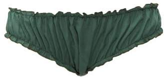 Loup Charmant Bloomer Organic Cotton Briefs - Womens - Green