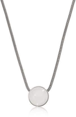 Skagen Sea Glass Silver Tone Women's Necklace