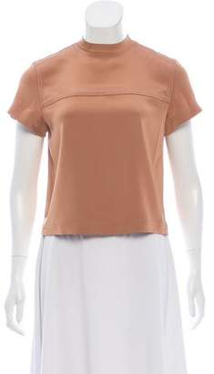 Alexander Wang Short Sleeve Crew Neck Top