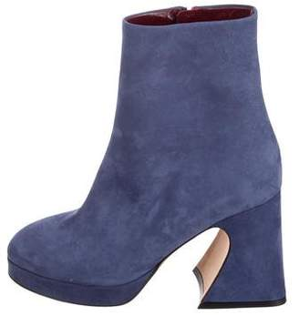 Gretta Sies Marjan Suede Ankle Boots w/ Tags
