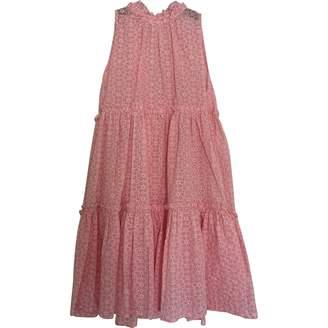 Lisa Marie Fernandez Pink Cotton Dress for Women
