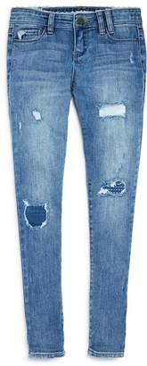Blank NYC BLANKNYC Girls' Cloud Nine Distressed Girlfriend Jeans - Big Kid
