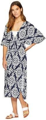 Tory Burch Swimwear Tapestry Geo Dress Cover-Up Women's Swimwear