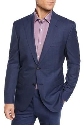 BOSS Men's Two-Piece Berry Window Suit