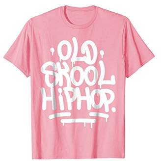 Old School Hip Hop 90s Graffiti T-Shirt