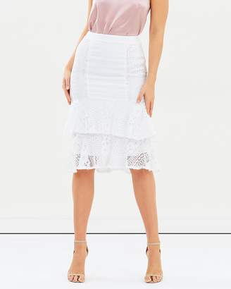 Atmos & Here ICONIC EXCLUSIVE - Lulu Ruffle Midi Skirt