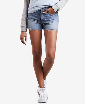 Levi's Wedgie High-Rise Denim Shorts