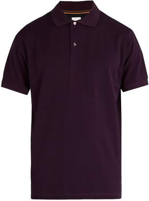 Paul Smith Charm button cotton piqué polo shirt