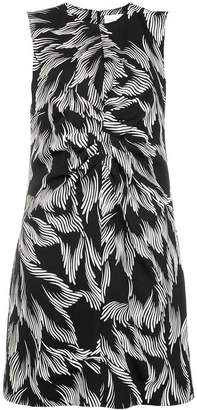 Victoria Beckham Victoria foliage print shift dress