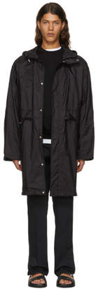 Prada Black Avio Coat