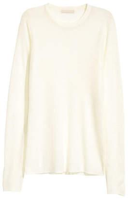 H&M Merino Wool Sweater - White