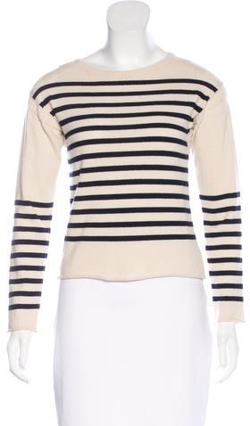 CelineCéline Cashmere Striped Sweater