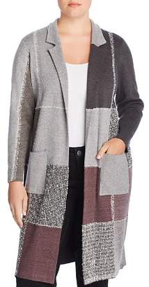Nic+Zoe Plus Plus Patchwork Duster Cardigan